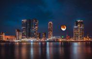 Tüm Dünyadan Kanlı Ay Manzaraları
